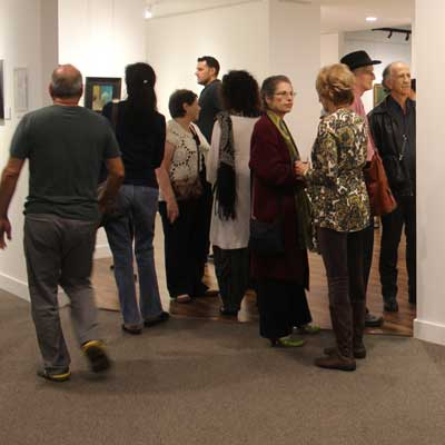 Leona Wood retrospective: opening night